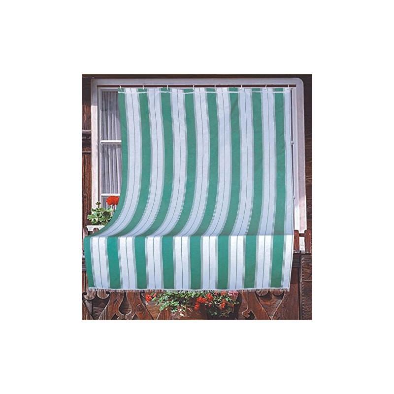 Tende Da Sole Con Anelli.Tenda Da Sole In Tessuto Resistente Cm 140x250 100 Poliestere Con