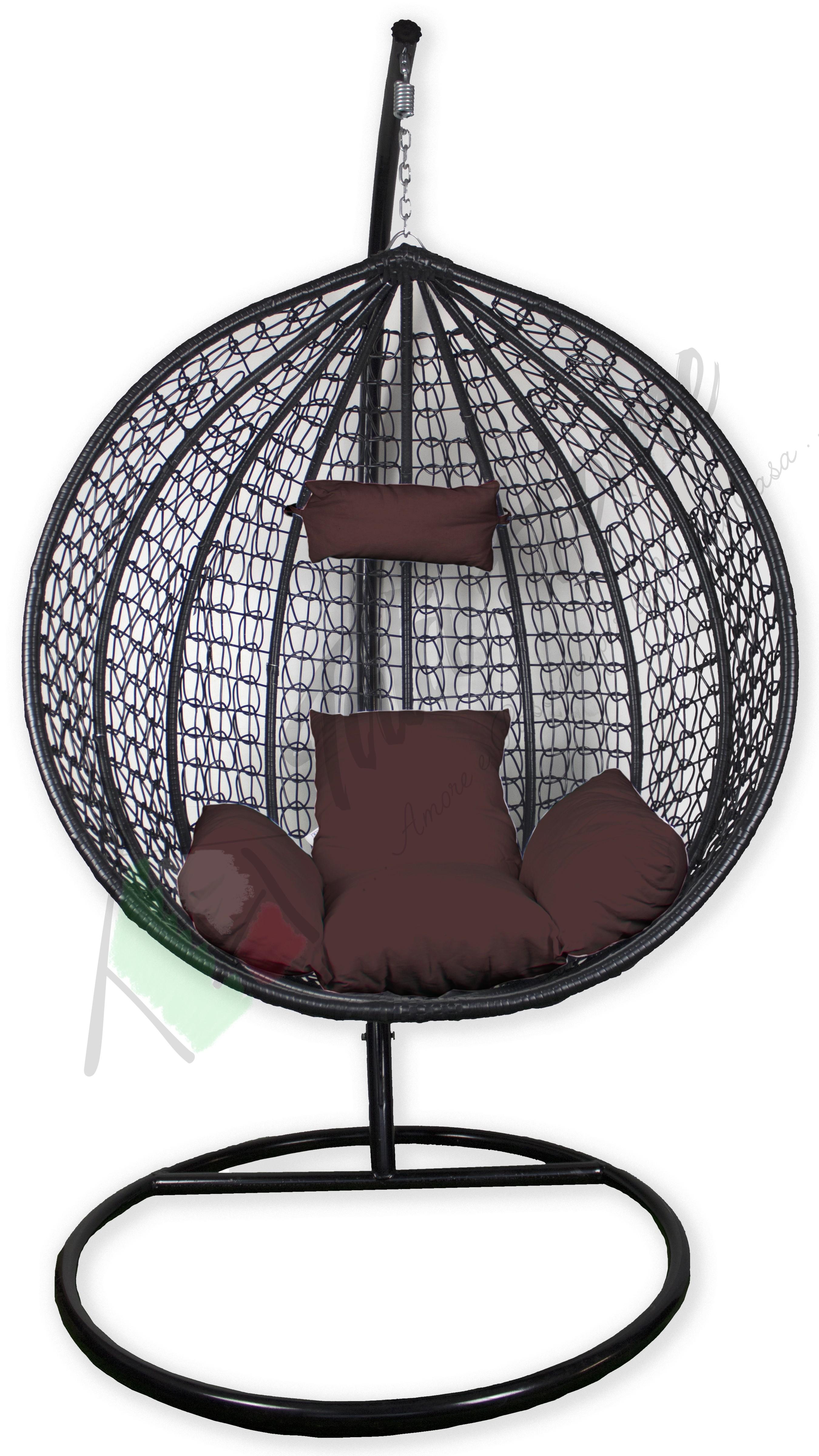 Sedie A Dondolo Per Terrazzo tata home poltrona sospesa sedia a dondolo da esterno con