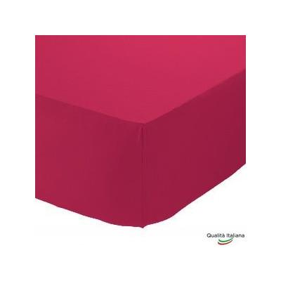 Lenzuolino Sotto BABY con Angoli ed Elastici 100% cotone Misura cm 70x130 Altezza Materasso cm 15 Made in Italy