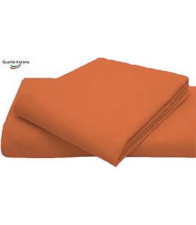 Joli Baby Lenzuolino Sopra 100% cotone Misura cm 120x180 colore BIANCO Made in Italy 57 fili al cm2