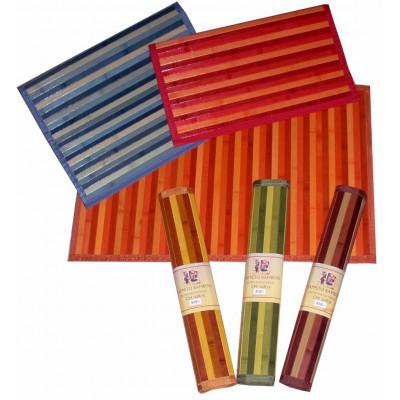 Tappeto Passatoia da Cucina Bamboo Classico in 100% Bamboo 8 misure e 10 colori